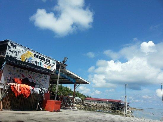 Seahorse Sipadan Scuba Lodge: Nice weather...
