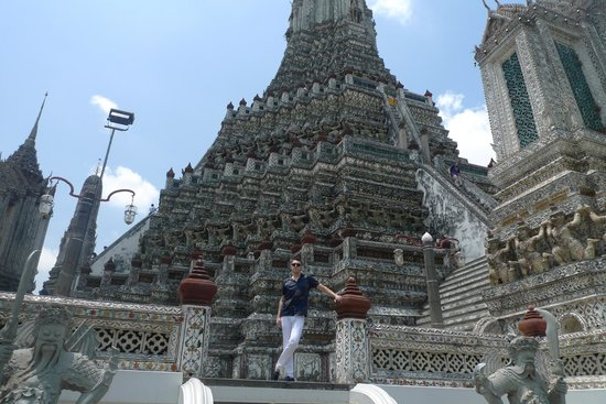 Wat Arun (Tempel der Morgenröte): Ват Арун