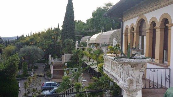 Hotel Ville Montefiori: dal balcone della camera