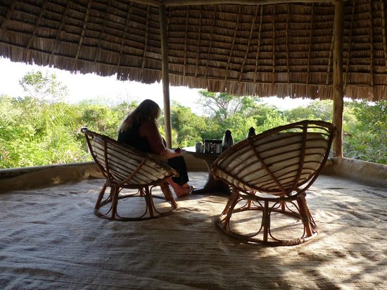Ras Kutani : reading area in room