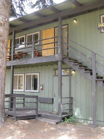 Montecito Sequoia Lodge: Our lodge