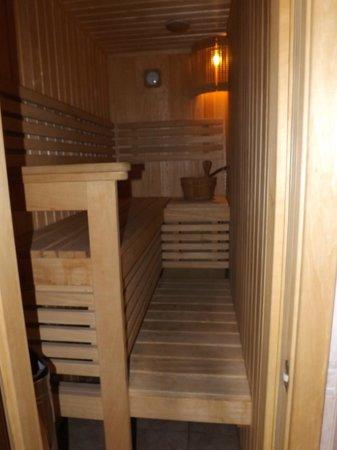 Nevsky Hotel Grand : Sauna!