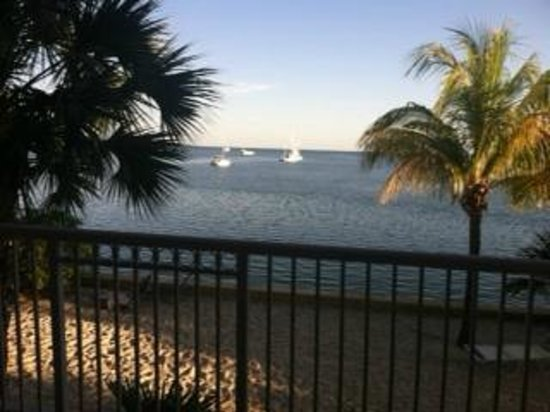 Key West Marriott Beachside Hotel: View from Suite