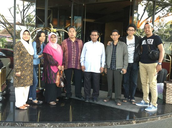Amaroossa Bandung: Just before we leave Amaroossa hotel