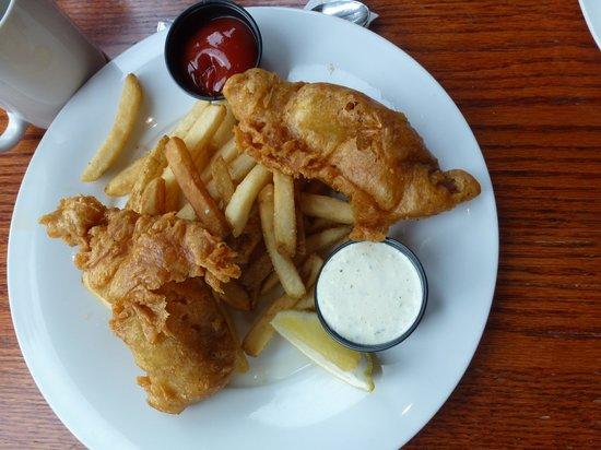 Timber Room Bar & Grill : Lemon Pepper Fish & Chips