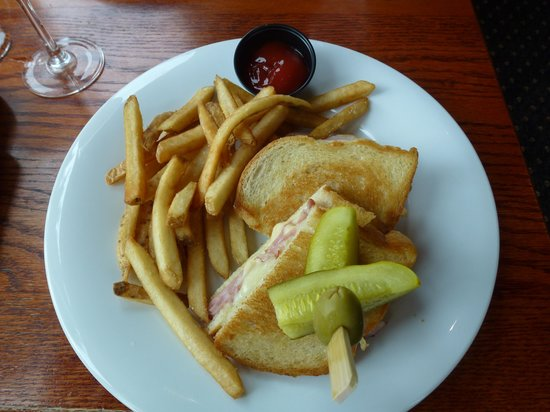 "Timber Room Bar & Grill : ""Croque Monsieur"" - Ham & Gruyère Cheese"