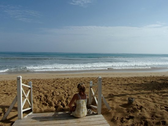 Plage hotel Casa Coson, journée surf!
