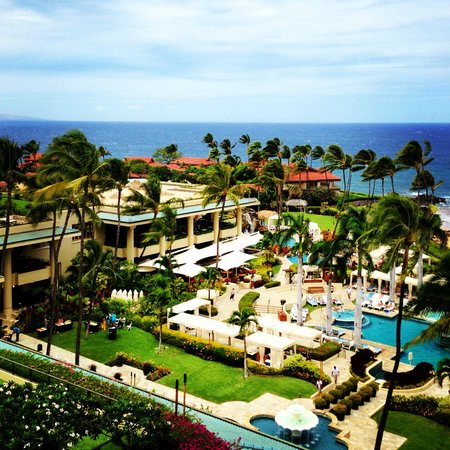Four Seasons Resort Maui at Wailea: View from our room (791)