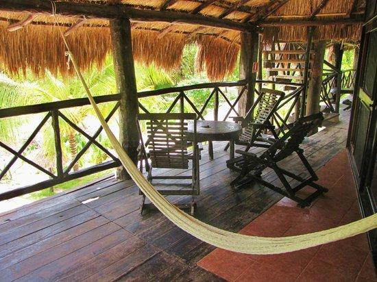 Poc-na Tulum: spazio esterno alla camera