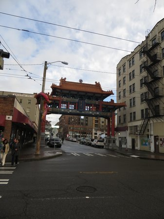 Chinatown International District : chinatown arch