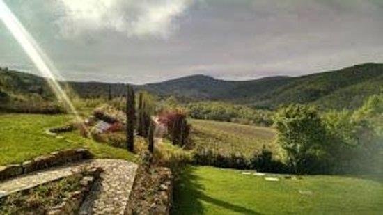 Hotel Villa Campomaggio Resort & Spa : Panorama