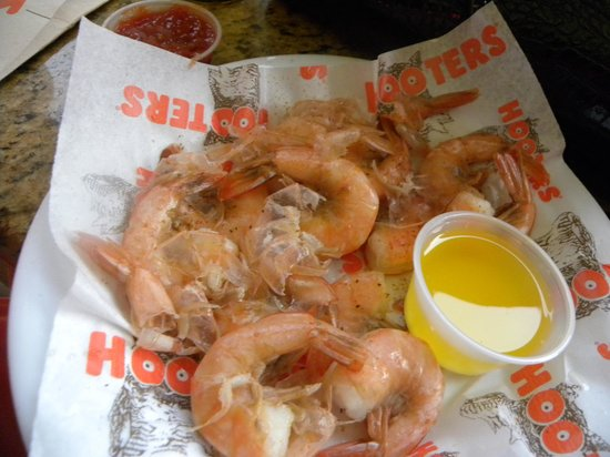 Hooters of Bay Side: shrimp