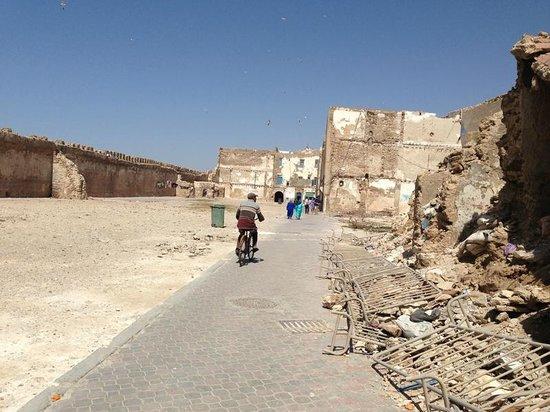Médina d'Essaouira : Le mellah, ancien quartier juif, au nord de la medina.