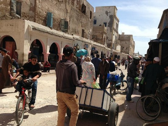 Médina d'Essaouira : Centre de la medina.