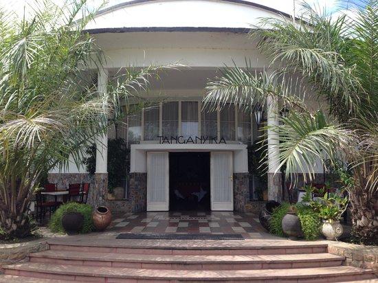 Restaurant Tanganyika : Entrance to the restaurant