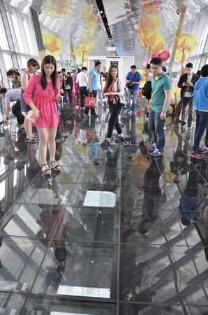 Centro Financiero Mundial de Shanghai: View points - not the whole floor