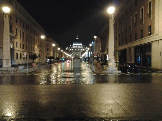 vatican by night!