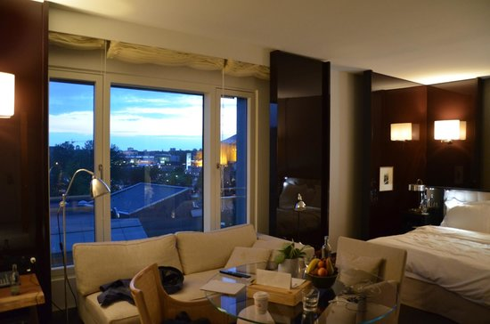 Grand Hyatt Berlin: club deluxe room