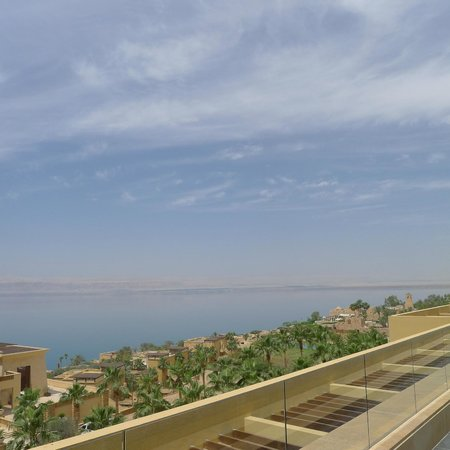 Kempinski Hotel Ishtar Dead Sea: vista do Mar Morto