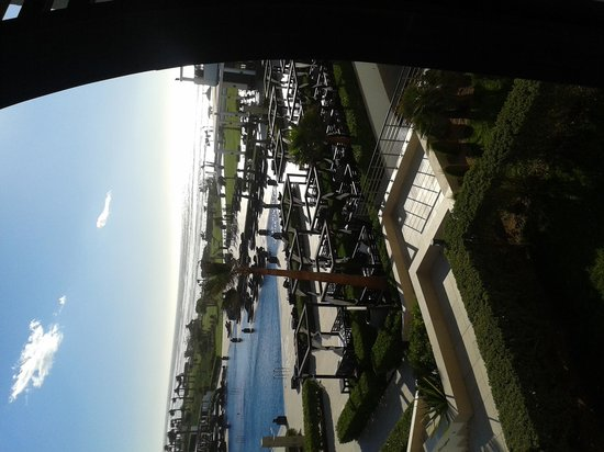 Sofitel Agadir Thalassa Sea & Spa: vue du balcon
