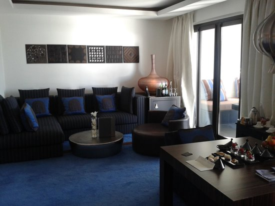 Sofitel Agadir Thalassa Sea & Spa: suite coté piscine