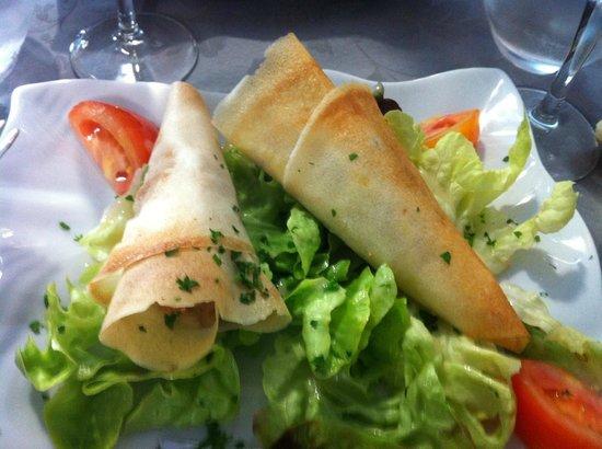 Grain d'Sel : Croustillants au fromage , un délice .