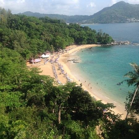 Patong Mansion Hotel: beach
