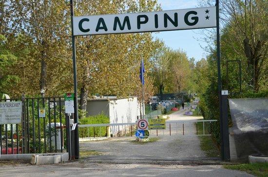 Piediluco, Italia: Ingresso Campeggio