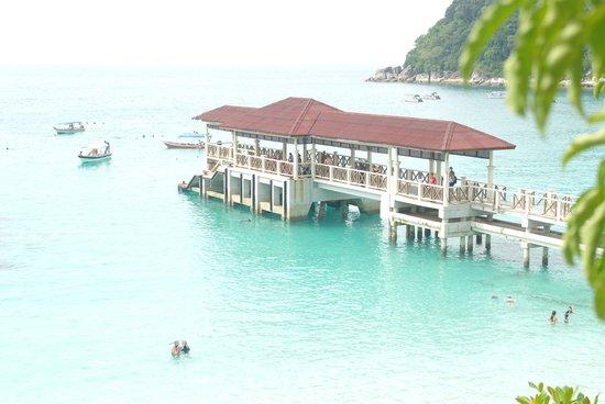 Perhentian Island Resort: pontile