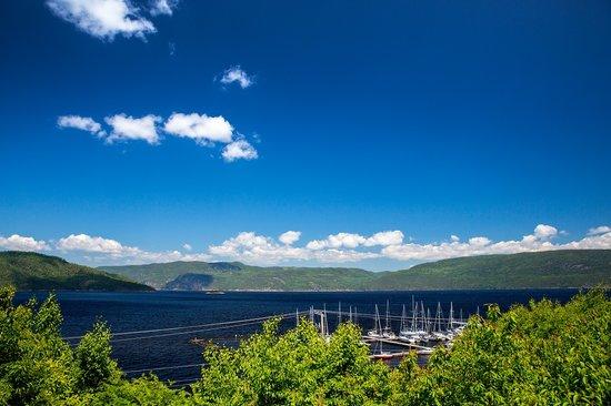 vue condotel 1 chambre chalets sur le Fjord