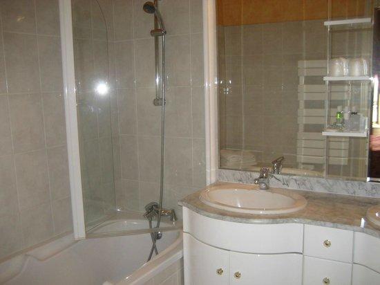 La Mere Poulard : salle de bains