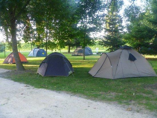 Camping Tours Val de Loire : Emplacement tente