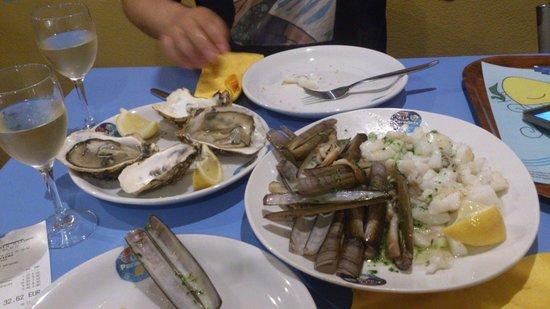 La Paradeta Sitges : Owoce morza