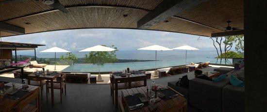 Kura Design Villas Uvita : The view from breakfast