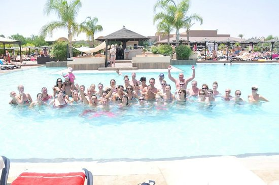 Hotel Riu Tikida Palmeraie : The RIU pool games!