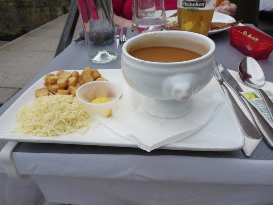 La Cabane du Pecheur : Soupe de Poisson