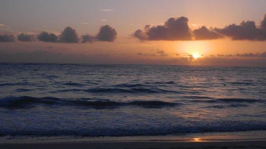 Caribe Club Princess Beach Resort & Spa : Levé de soleil