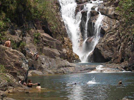 Mountain Equestrian Trails : Big Rock Falls. Mt. Pine Ridge, Belize.