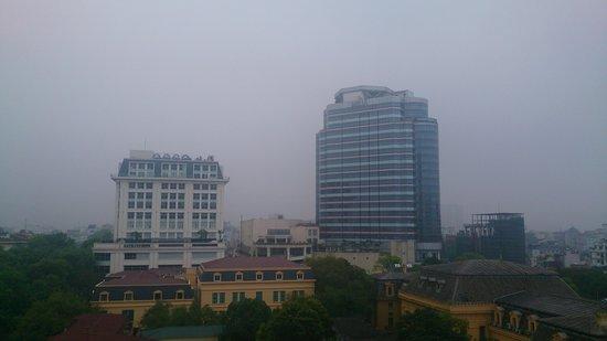 Somerset Grand Hanoi : 部屋からの景色