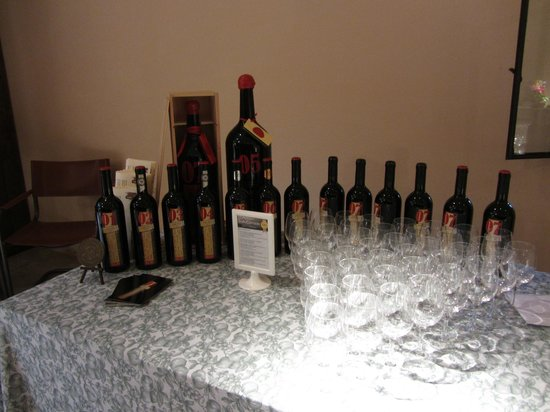 Bosco della Spina : tasting of our own Tuscan Red wine