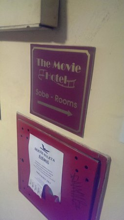 Movie Hotel: Eingang