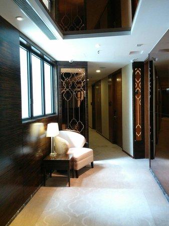 Dorsett Kwun Tong, Hong Kong: Hallway