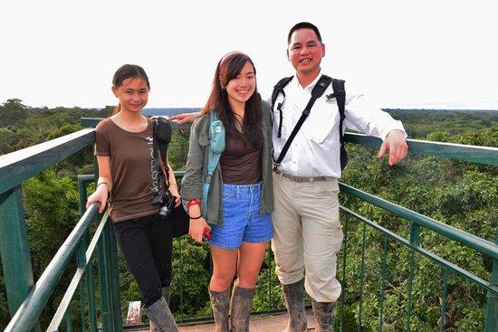 Posada Amazonas : the Canopy Viewing area
