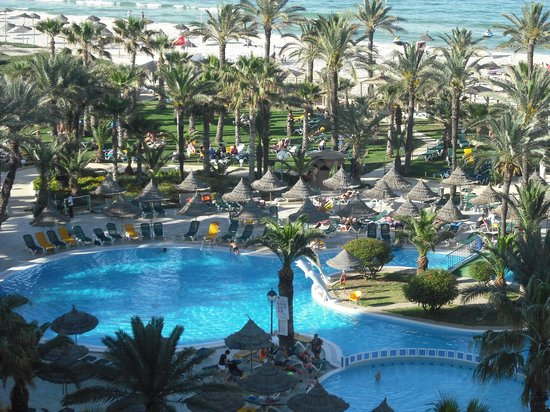 Riadh Palms Hotel: view from our room