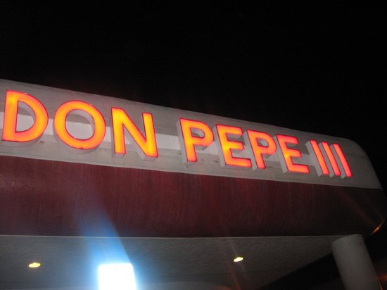 Don Pepe Restaurant III: sign