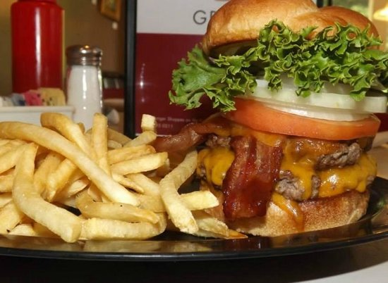 Cheeseburgers Grille: Double Original!