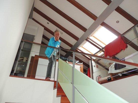 Hotel Santa Clara: Super Zimmer im Dachgeschoß