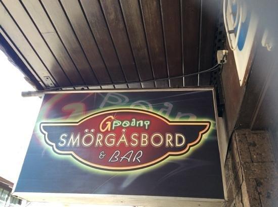 G Point Smörgåsbord & Bar : GPoint
