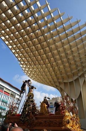 Metropol Parasol : Setas de Sevilla