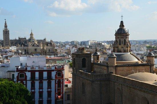 Metropol Parasol : вид с пандусов Setas de Sevilla